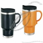 16oz Stainless Steel 12v Electric Heated Auto Mug