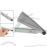 17 in 1 Gap Measure Feeler Gauge Blades 0.02-1mm Tool