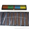 17 Rod Red/Multicolour Student Abacus