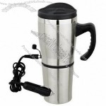 17oz Stainless Steel Auto Electric Heated Mug