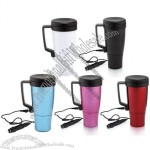 17oz Stainless Steel Electric Heated Auto Mug