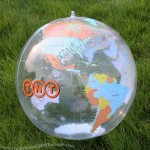 "18"" TNT Ads Inflatable Globe Beach Ball"