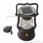 1W Rechargeable LED Solar Camping Light