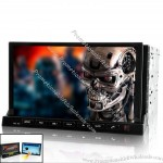 """2 DIN In Dash Car DVD Player with 7"""" Detachable Android 2.3 Tablet Panel"""
