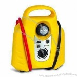 2-in-1 Jump Starter with Air Compressor and Safe Switch
