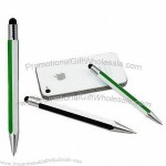 2-In-1 Touch Stylus With Ballpoint, For Iphone, Ipad And All Capacitive Screen