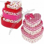 2-Piece Heart-Shaped Rigid Boxes With 4C Printing