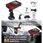 """2.4"""" LCD Monitor Real HD 720P Car DVR with Remote Control"""