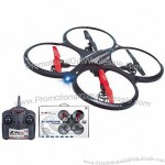 2.4G 4CH Plastic RC Toy UFO with Gyro and Adapter