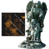 20-Inch Guardian Angel Solar Lighted Garden Statue