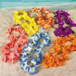 "20"" L Hawaiian Flower Leis"