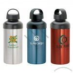 20 Oz. Aluminum Water Bottle W/ Integrated Carry Handle
