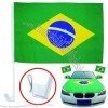 2014 World Cup Brazil Car Flags