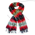 2015 New Fashion Black and Red Scarf