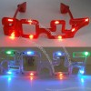 2017 LED Flashing Eyeglasses For Masquerade Mask Party