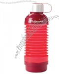 21 Oz. Collapsible Water Bottle W/ Pill Box