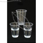 210ml Drinking Water Clear Plastic Cup