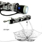 21inch Umbrella with LED Torch Light