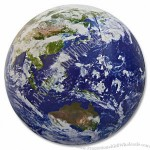 "24''/36"" Astro Earth Globe Beach Ball"