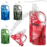 25 Oz. Ultra Bright Collapsible Water Bottle
