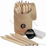 26 pcs Color Pencil in Natural Case
