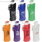 27oz Flip Top Folding Water Bottle