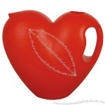 2L Plastic Heart Shape Watering Can
