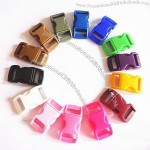 """3/8"""" Plastic Curved Side Release Buckle"""