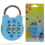 3 Digits Portable Mini Combination Lock/Backpack Padlock