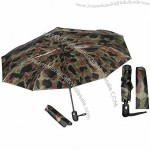 3 Fold Camo Camouflage Military Umbella with Camo Design