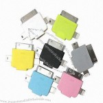 3-in-1 Data and Charge adapter, USB A to micro USB b, lightning 8-pin, 30-pin dock for Apple, Phone