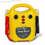 3-in-1 Jump Starter with Air Compressor and Fluorescent Work Light