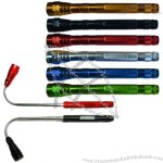 3-LED Flashlight with Magnetic Pickup tool