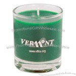 3 Ounce Wax Votive Candle in Clear Glass