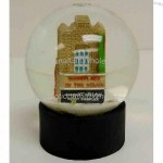 """3"""" Polyresin Building Water Globes"""