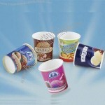 3 to 25oz Ice Cream Paper Cup