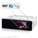 3.2 inch TFT Screen 1 DIN Car DVD Player with Remote