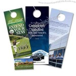 "3.5"" x 11"" Door Hanger w/ tear-off perforation"