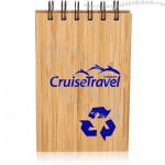 3.7 x 5.5-inch Promo Eco Recycled Bamboo Jotter Pads