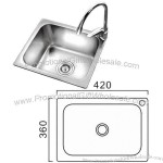304 Stainless Steel Kitchen Sinks