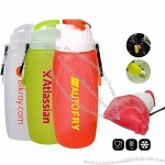 320ml Silicone Foldable Sports Bottles