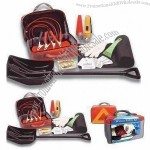 32pcs Car Winter Safety Kit with Collapsible Shovel, Ice Scraper and Emergency Blanket