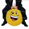 """34"""" Silly Face Adult Jumping Ball"""