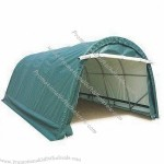 350g PE Car Cover with Waterproof and Galvanized Steel Pipes