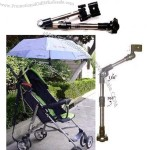 360 degree Arrival Swivel Wheelchair Bicycle Umbrella Connector Holder