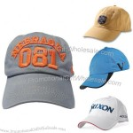 3D Embroidered Cotton Cap