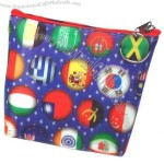 3D Lenticular Purse w/Key Ring (International Countries)