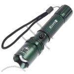 3W Adjustable Focus Beam Q5 Chargeable LED Flashlight
