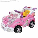 4-channel RC children's car with MP3