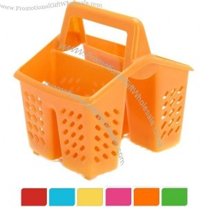 Product Name, 4 Compartment Plastic Sink Tidy Filter Cutlery Drainer Caddy  With Handle